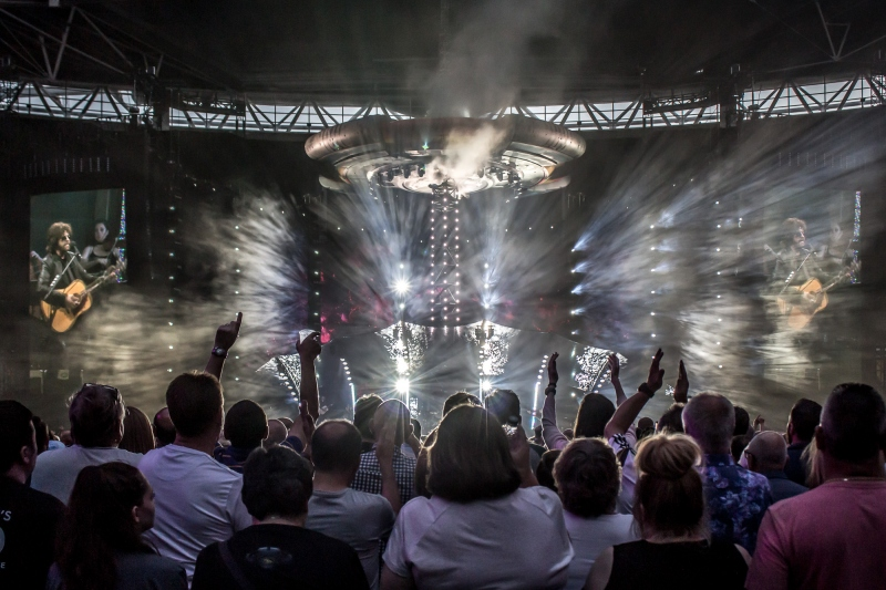 Jeff Lynnes ELO at Wembley